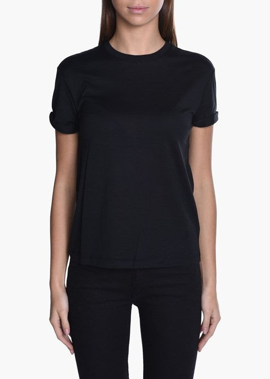 T by Alexander Wang crewneck tee black