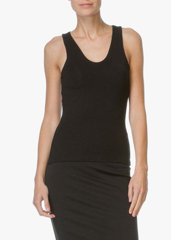 T by Alexander Wang shell with back slit black