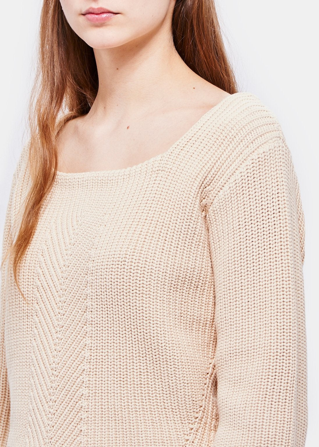 Demylee Maran sweater in off-white