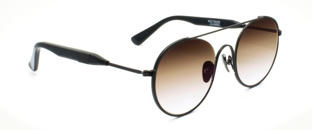Westward Leaning cellophane disco 1 sunglasses black