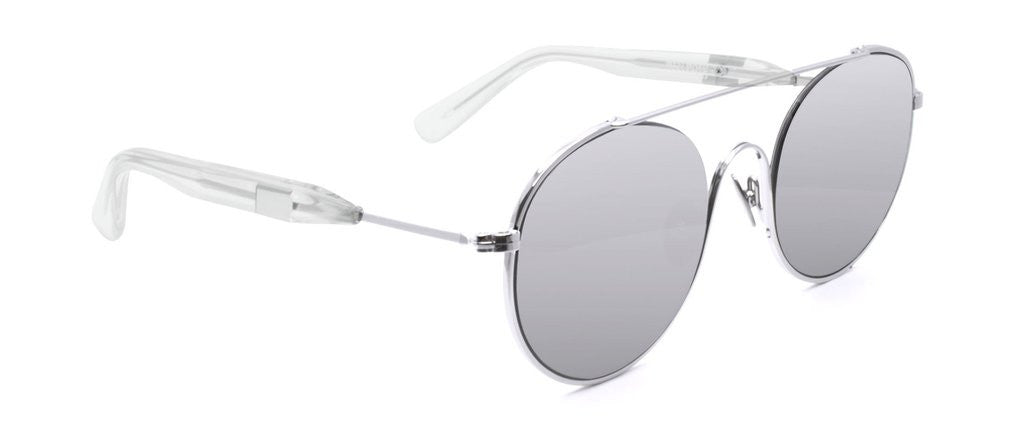 Westward Leaning cellophane disco 2 sunglasses silver