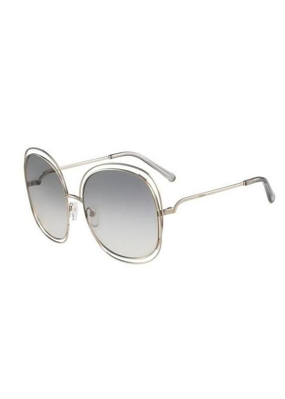 Chloe Carlina Sunglasses Transparent Grey