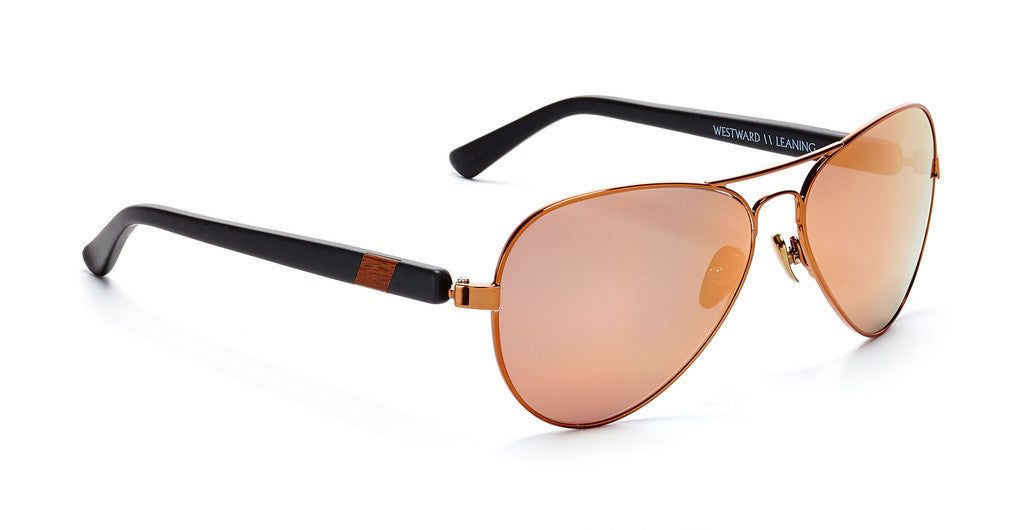 Westward Leaning concorde 5 sunglasses black matte/rose gold