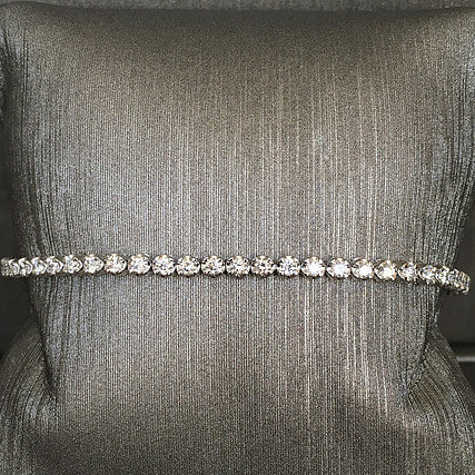 Rocks with Soul Diamond Tennis Bracelet