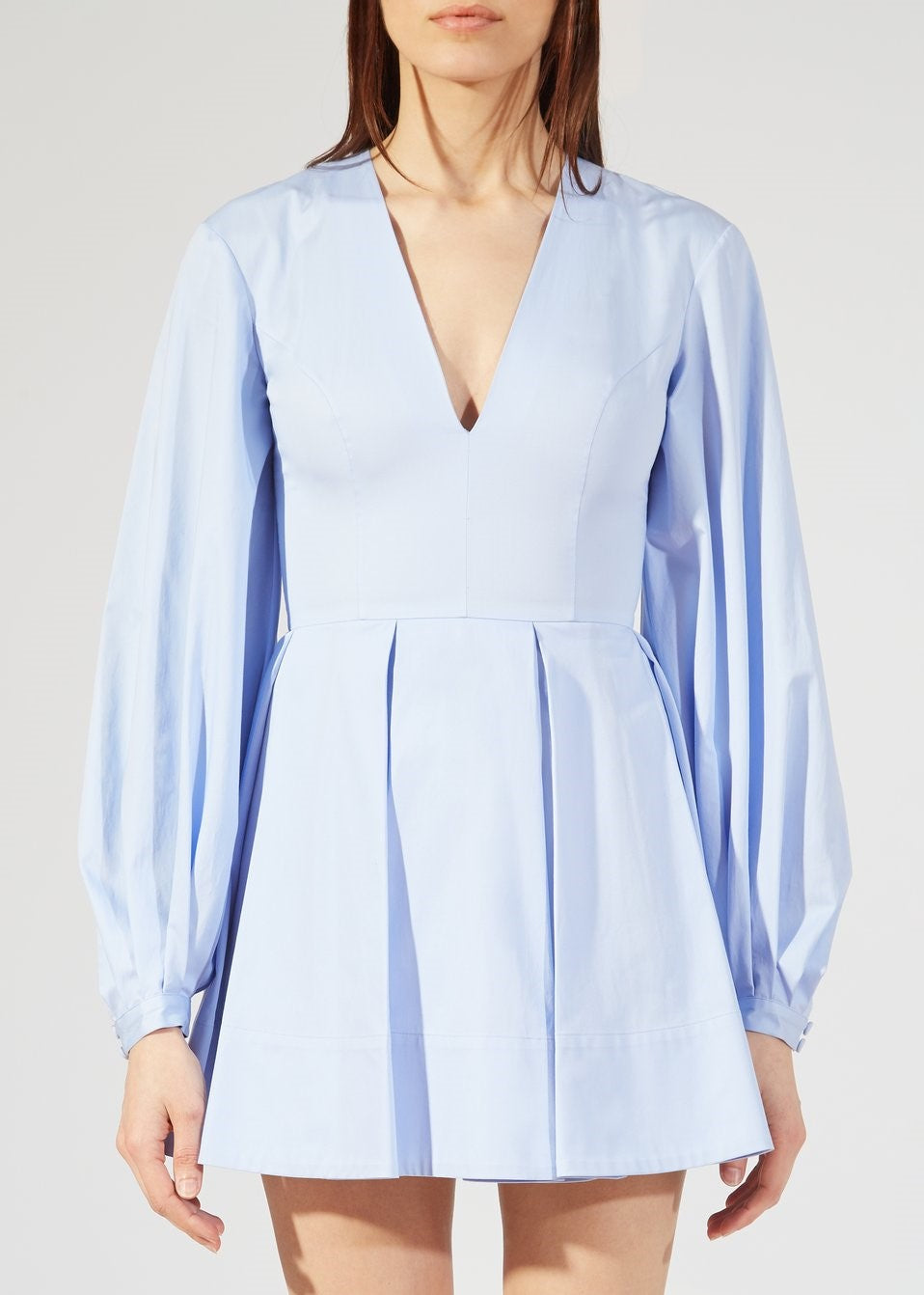 Khaite Denise dress in sky blue