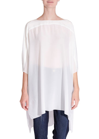 Faith Connexion silk top white