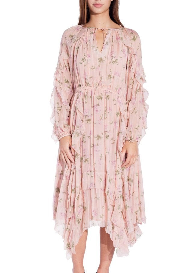 Ulla Johnson lorelei dress rose