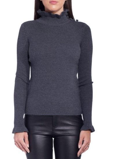 See by Chloe grey turtleneck