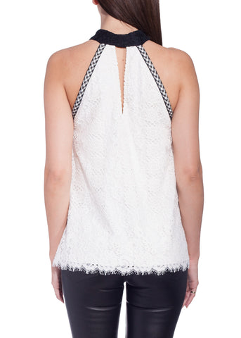 Alexis august top white