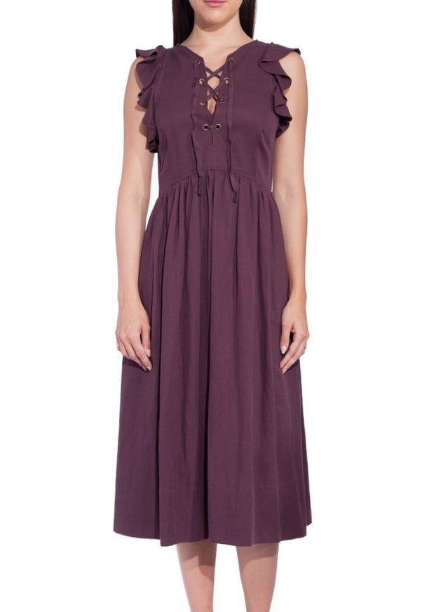 Ulla Johnson karyn dress bordeaux