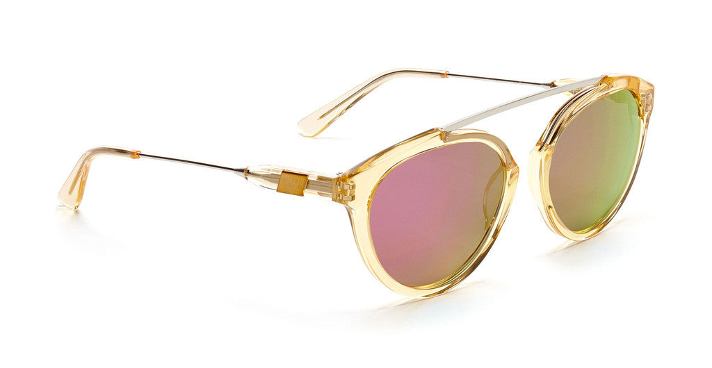 Westward Leaning flower 7 sunglasses champagne/pink