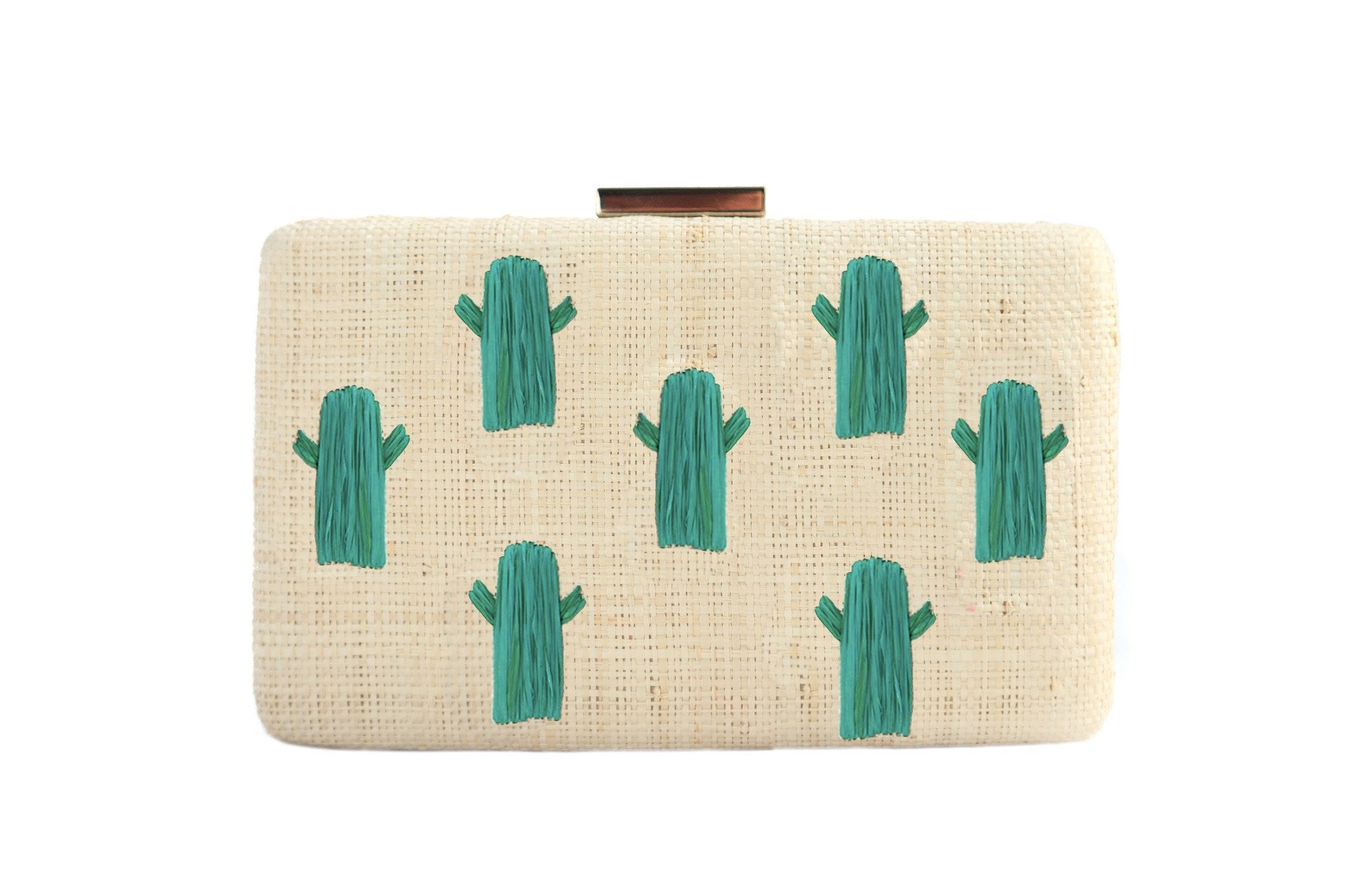 Kayu cactus clutch green