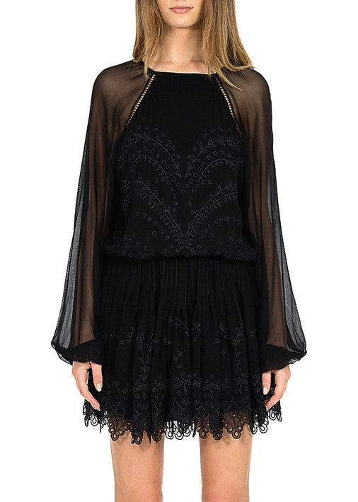Magali Pascal harmony dress black