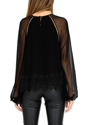 Magali Pascal harmony top black
