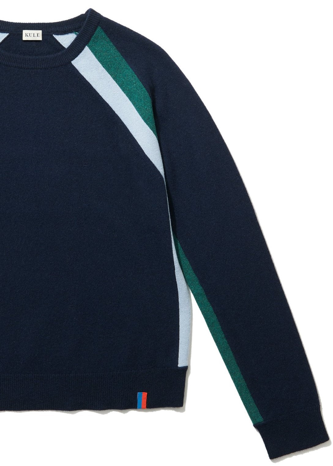 Kule Minty sweater in navy