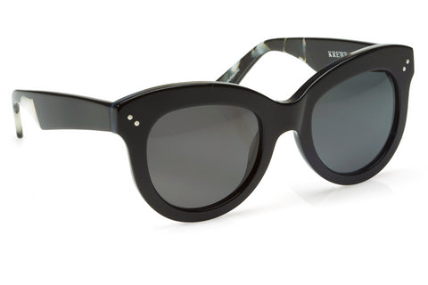 Krewe julia sunglasses black pearl