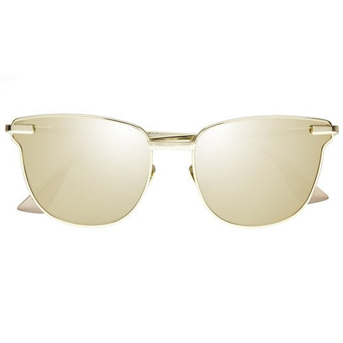 Le Specs Luxe pharoah sunglasses gold