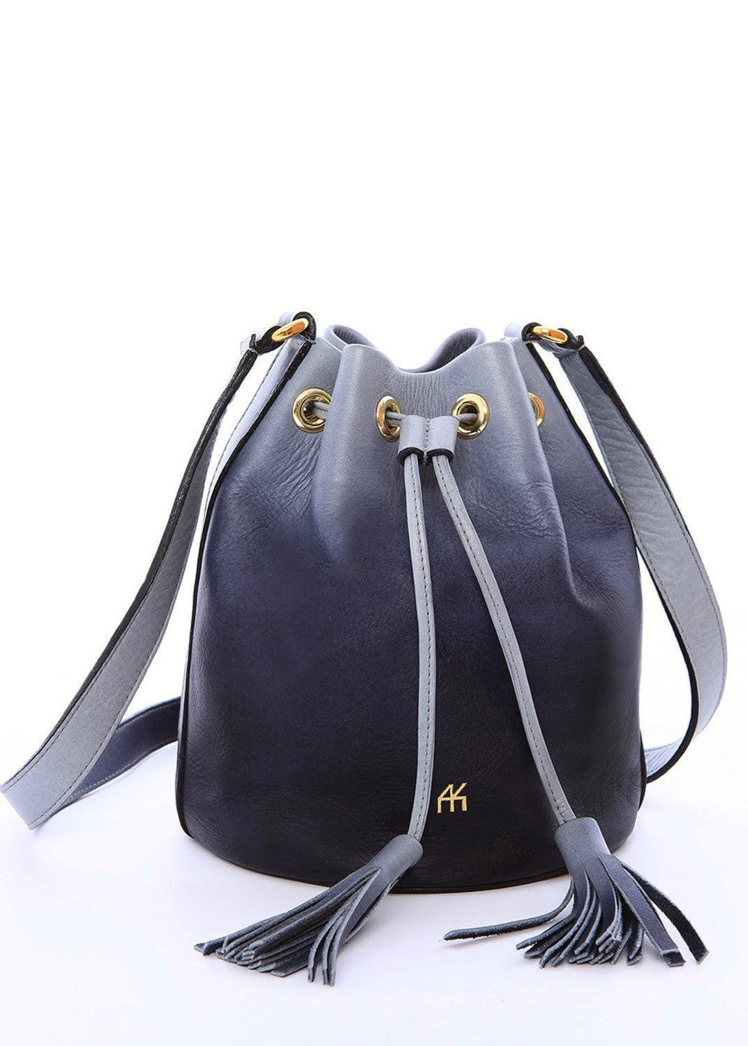 AYK moon bucket bag