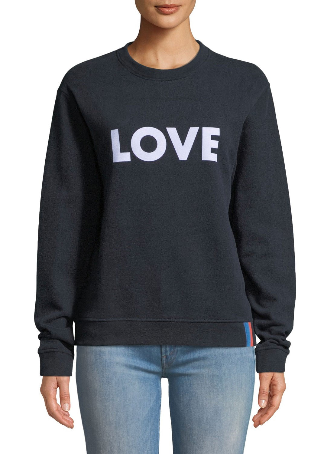 Kule Raleigh love sweater in navy