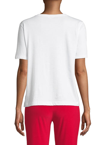 Kule Modern O Man t-shirt in white