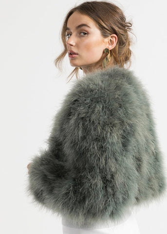 Bubish Manhattan Feather jacket in green