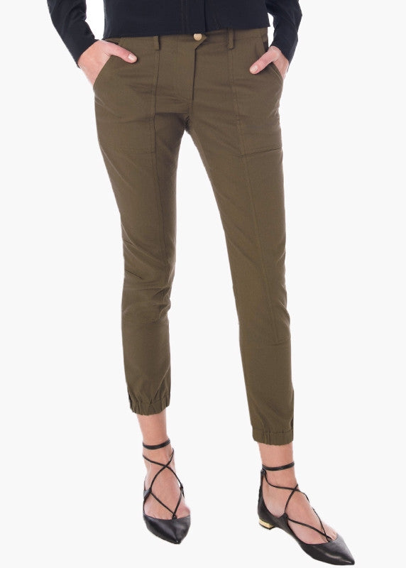 Veronica Beard field cargo pant army green