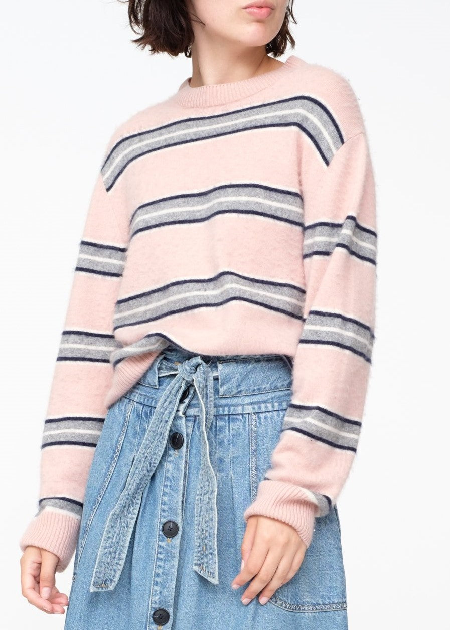 Sea Salene sweater in blush multi