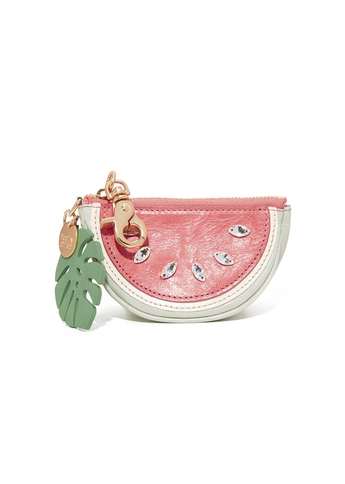 See by Chloe watermelon coin purse