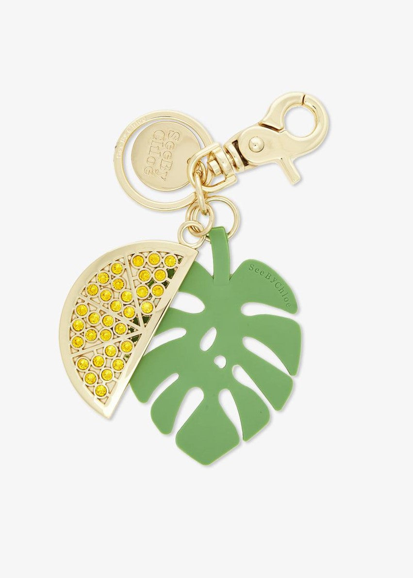 See by Chloe lemon key ring