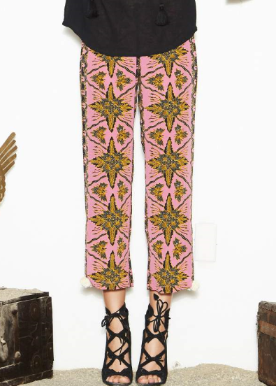 Figue goa pant in gypsy batik lotus pink