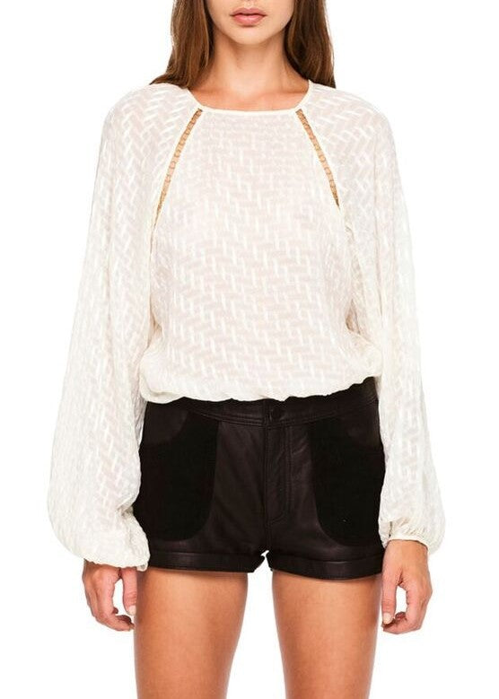 Magali Pascal sophia blouse cream