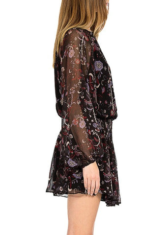 Magali Pascal sophia dress black phoenix