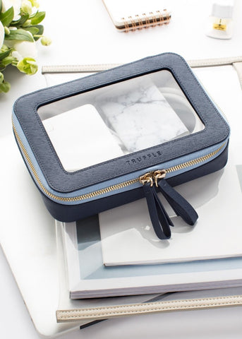 Truffle Clarity jetset case in dove grey