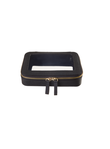 Truffle Clarity jetset case in black