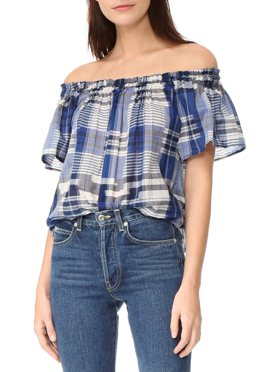 Ulla Johnson amania blouse midnight