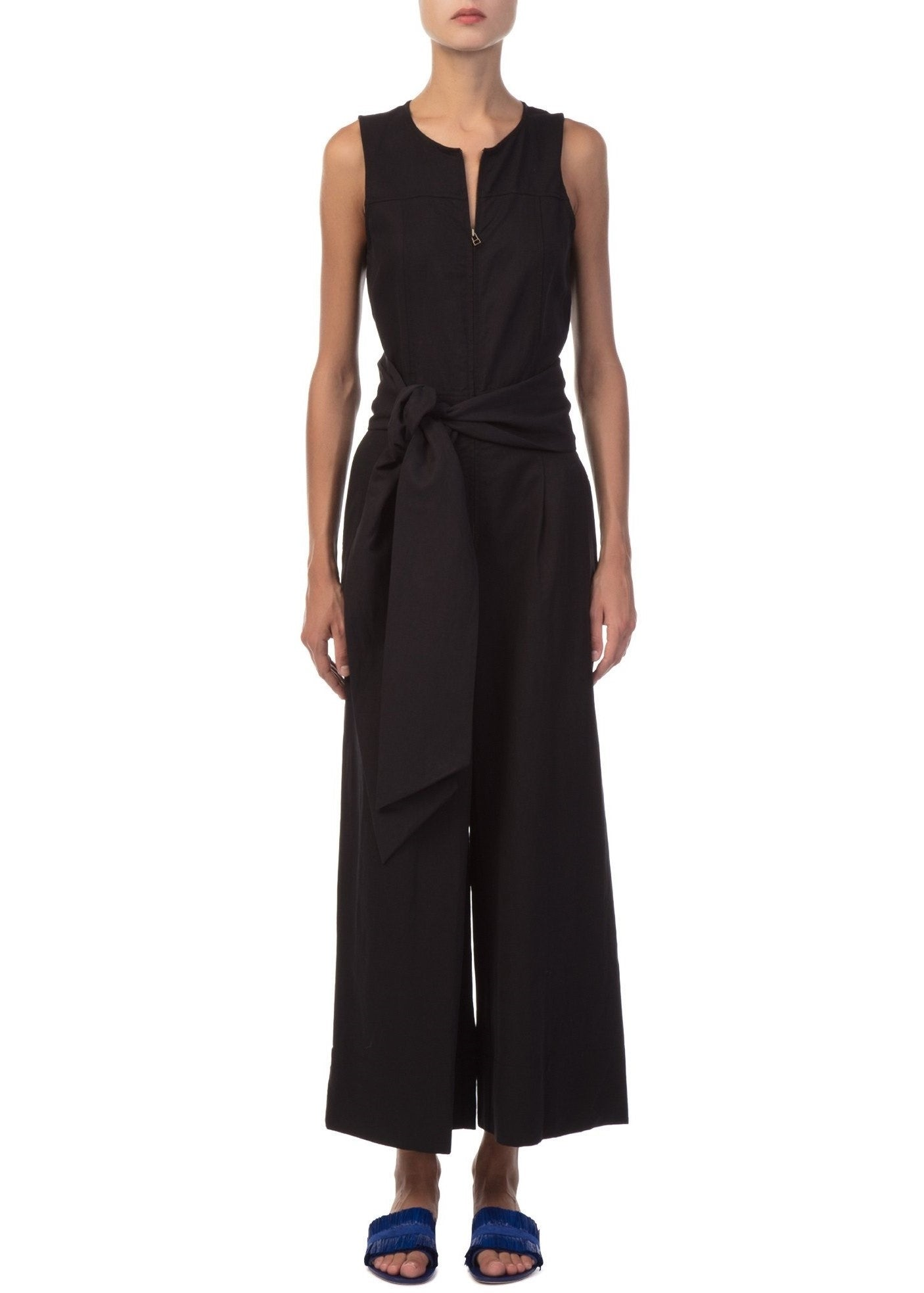 Ulla Johnson cunningham jumpsuit black