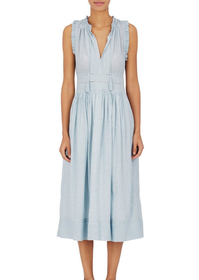 Ulla Johnson virginie dress stripe