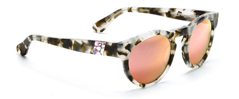 Westward Leaning voyager 15 sunglasses matte tortoise rose gold