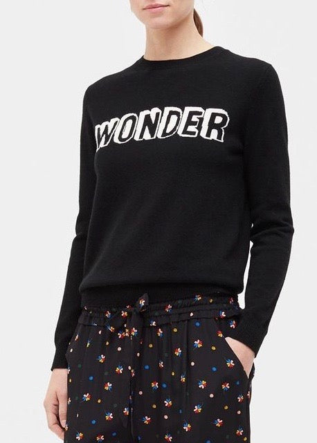 Chinti and Parker Wonder sweater in black