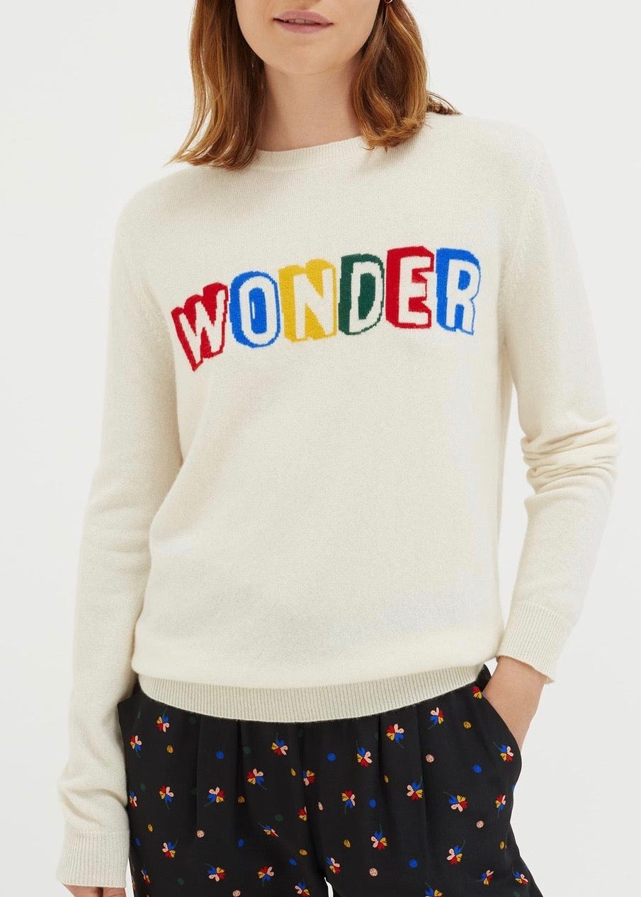 Chinti and Parker Wonder sweater in cream