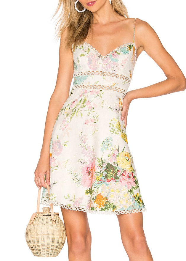 Zimmermann Heathers sun dress in garden floral