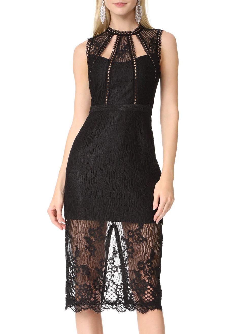 Alexis oralie dress black