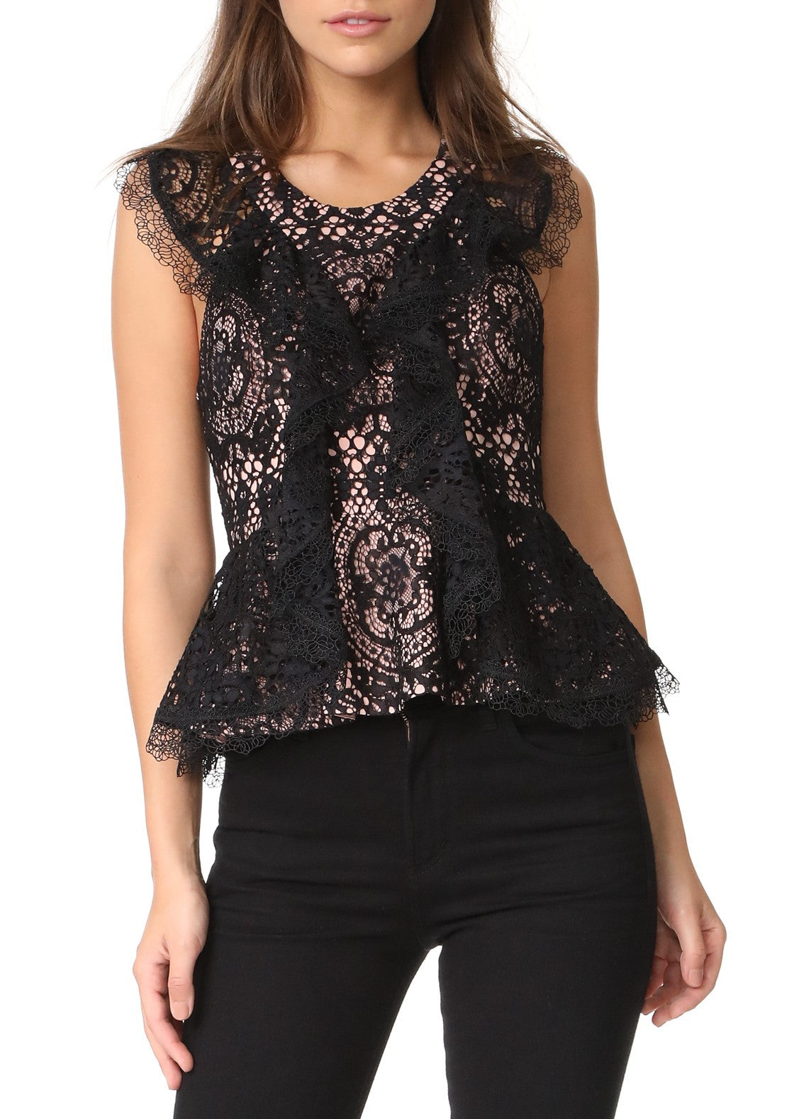 Alexis cairo top black