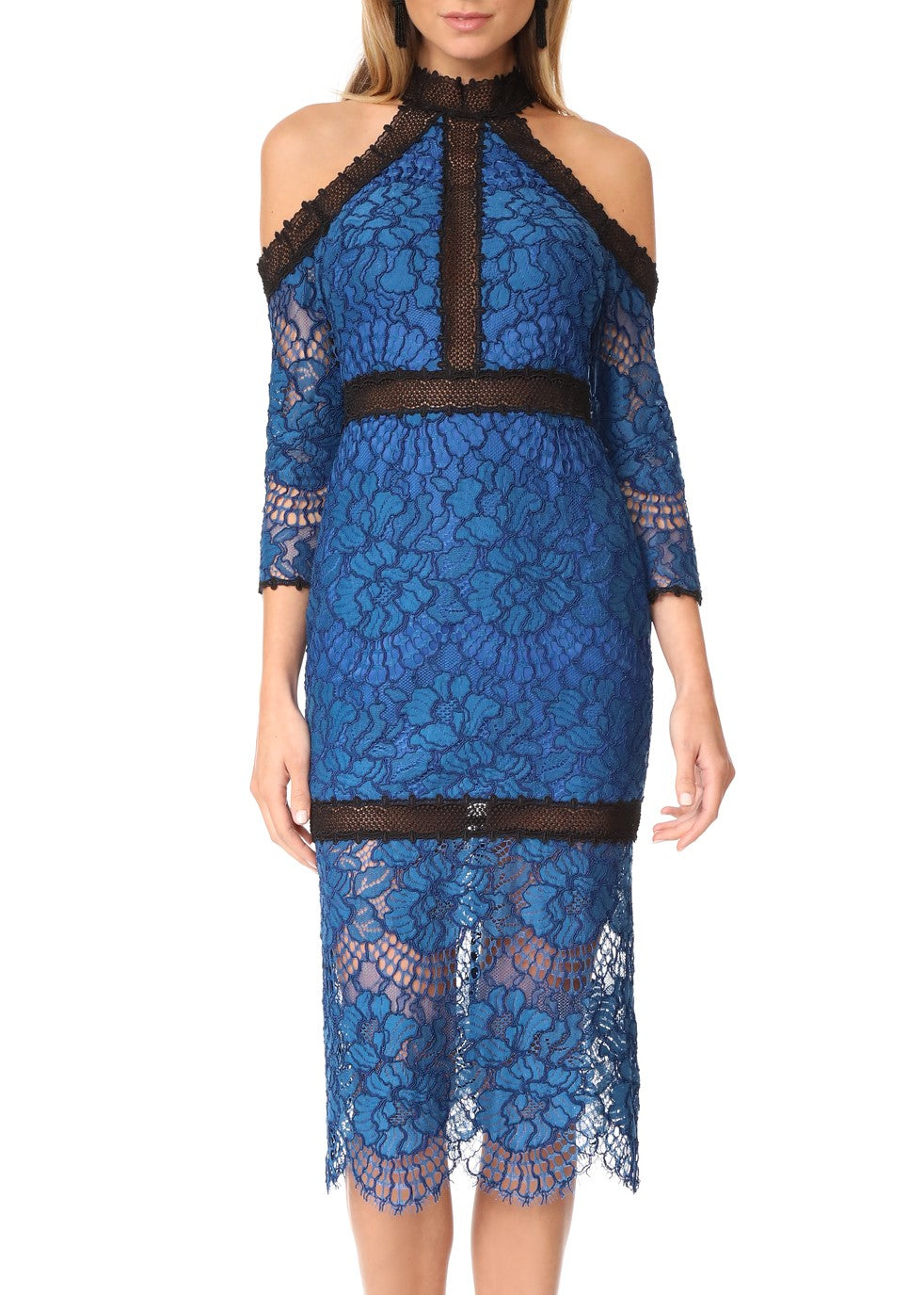 Alexis marlowe dress blue