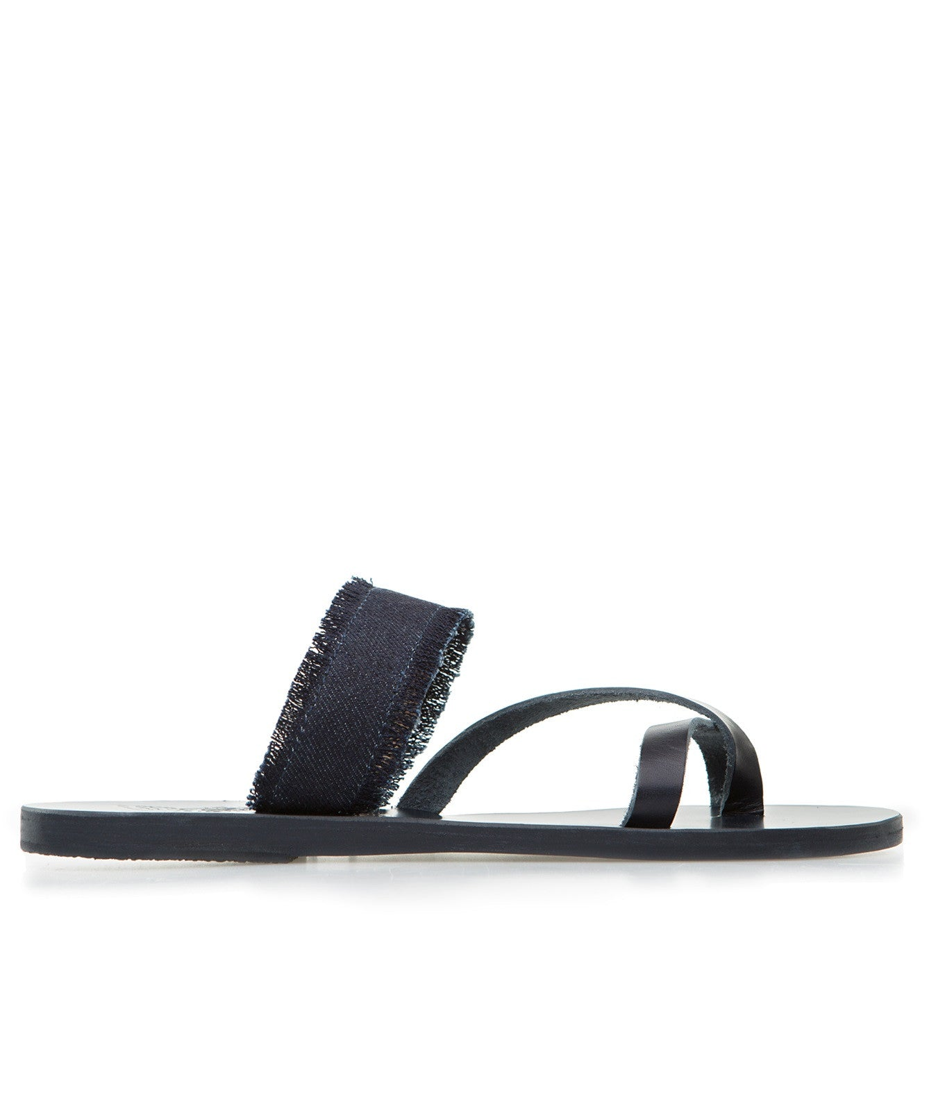 Ancient Greek Sandals daphnae dark denim