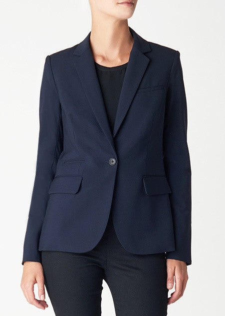 Veronica Beard navy classic jacket