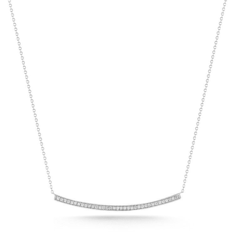 "Dana Rebecca ""SYLVIE ROSE"" long diamond bar necklace"