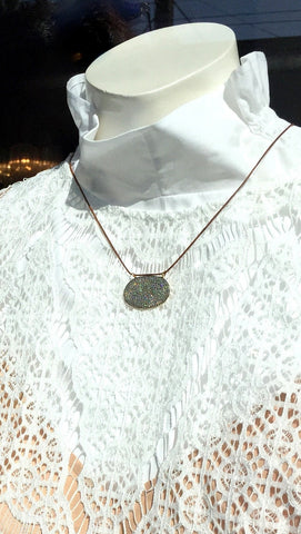 Designs by Alina pave chic lariat