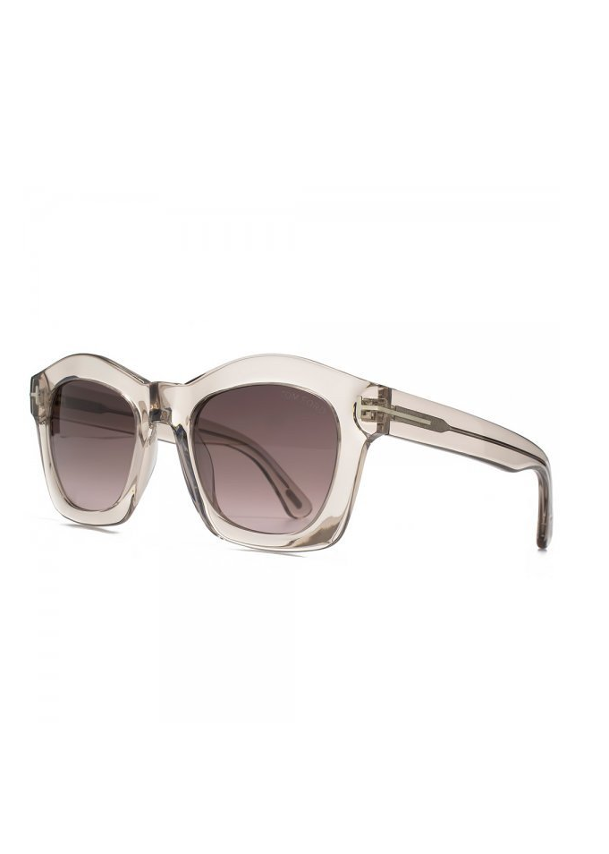 Tom Ford greta transparent pink sunglasses