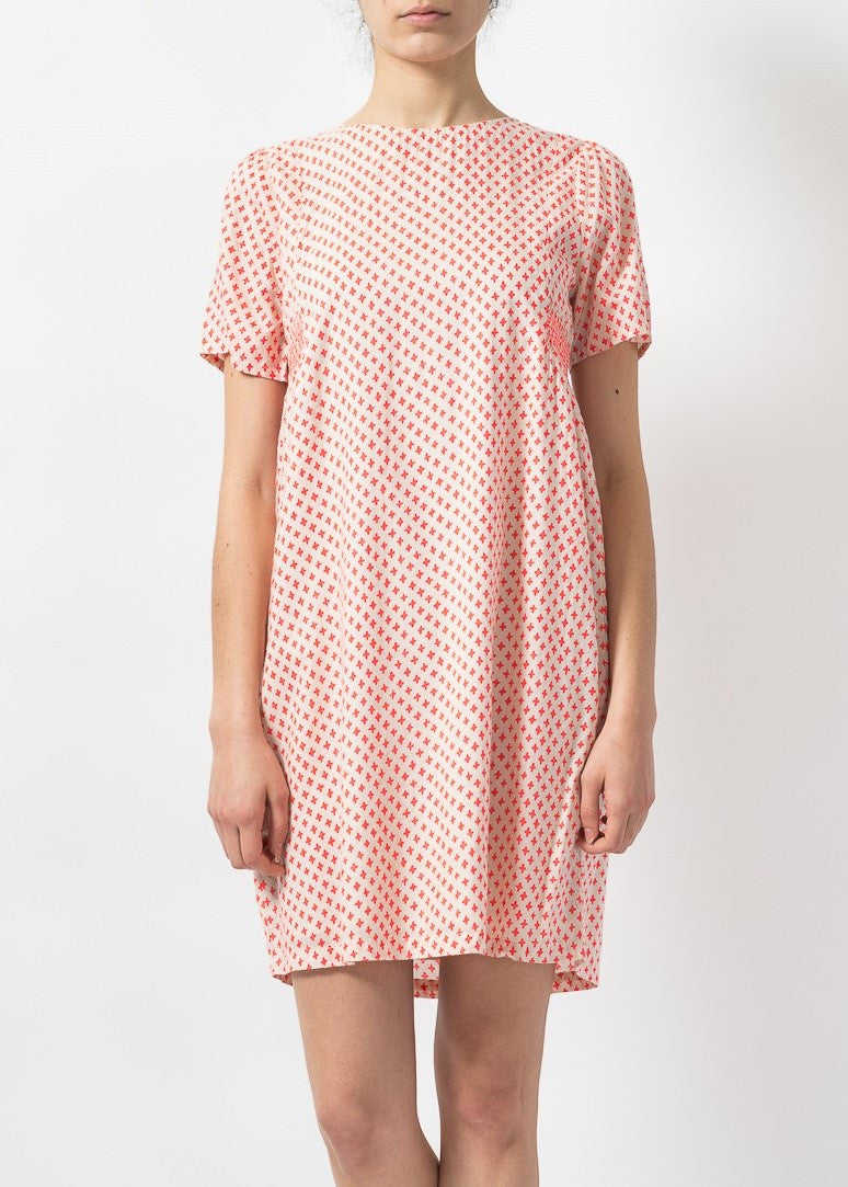 Indi & Cold printed coral dress